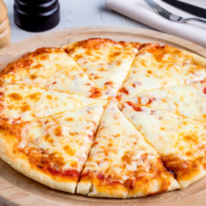 Classic cheese or create your own pizza