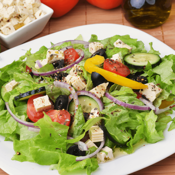 Freshly Cut Lettuce, Tomatoes, Cucumbers, Carrots, Avocados, Dried Cranberries, Served with Two Choices of House Dressings, Vinaigrette or Mayonnaise Base